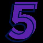 PNG Número 5 cinco Mentor Holistico